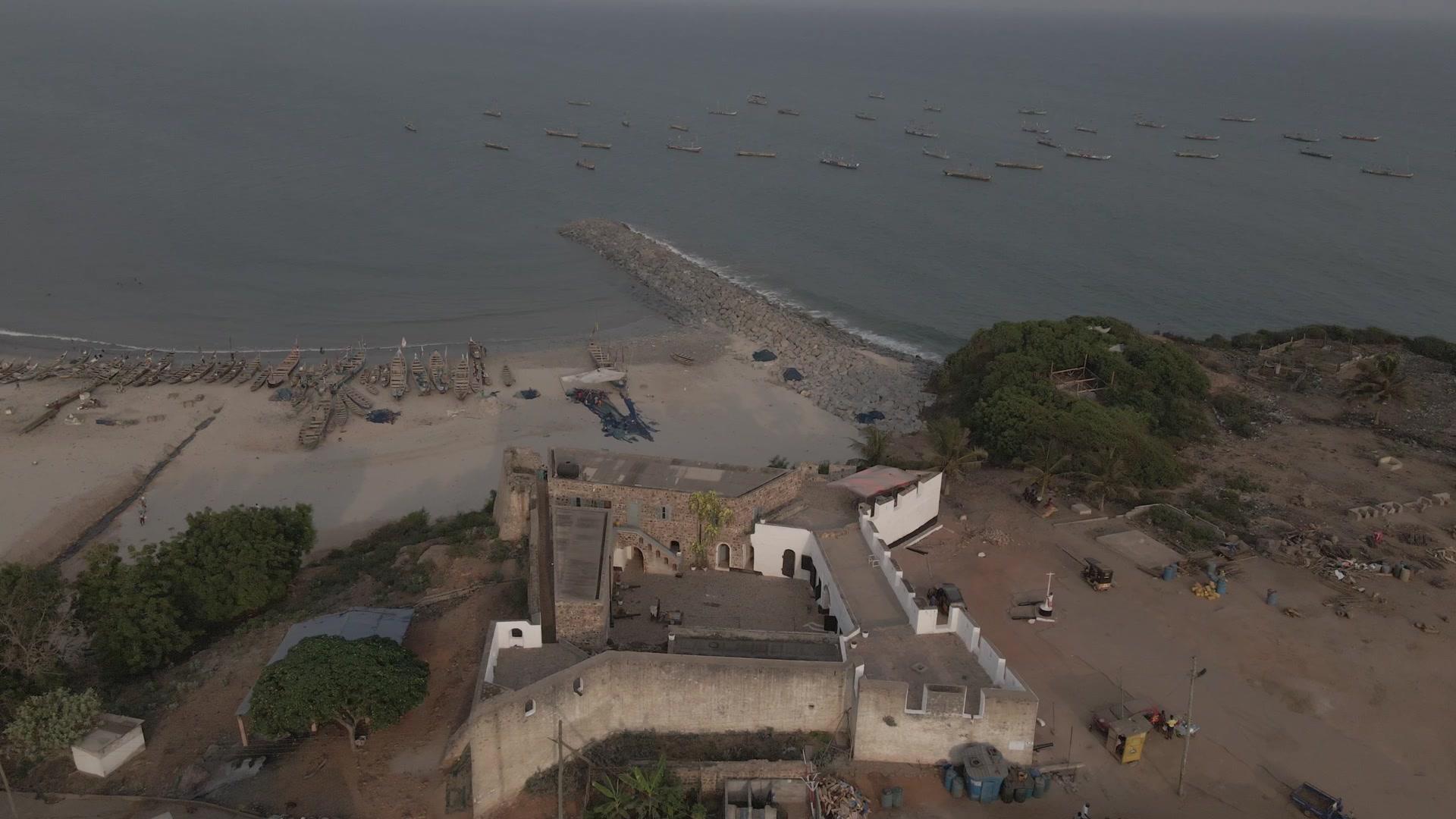 Fort Good Hope Senya Bereku Top Down View Beach