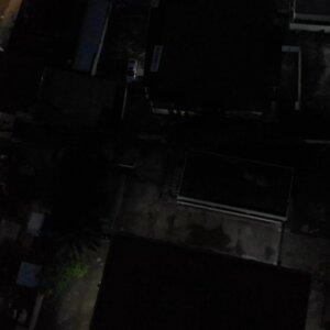 Koforidua Cityscape Night Down Up View
