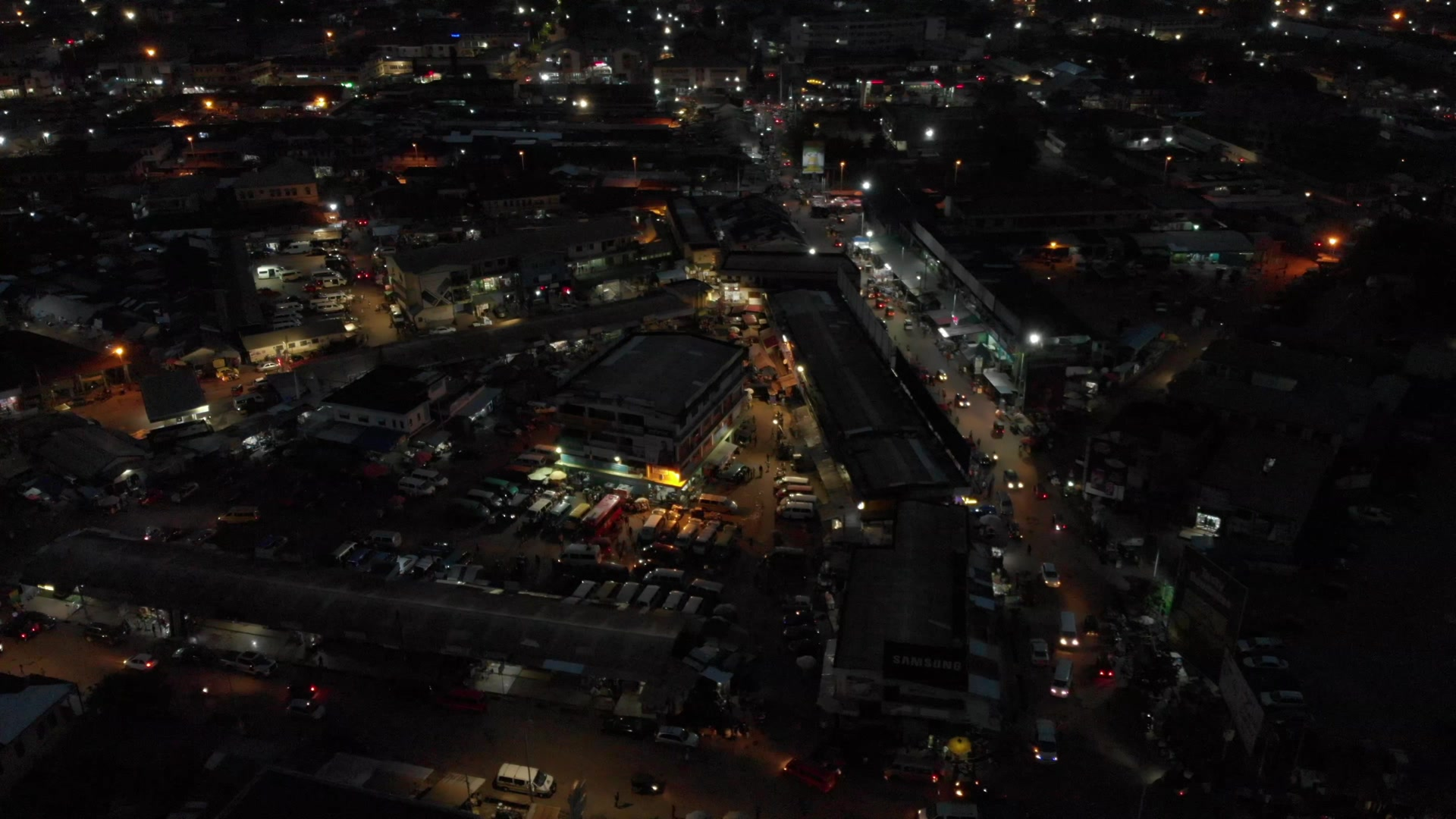 Koforidua Township Night Flyover Full Video