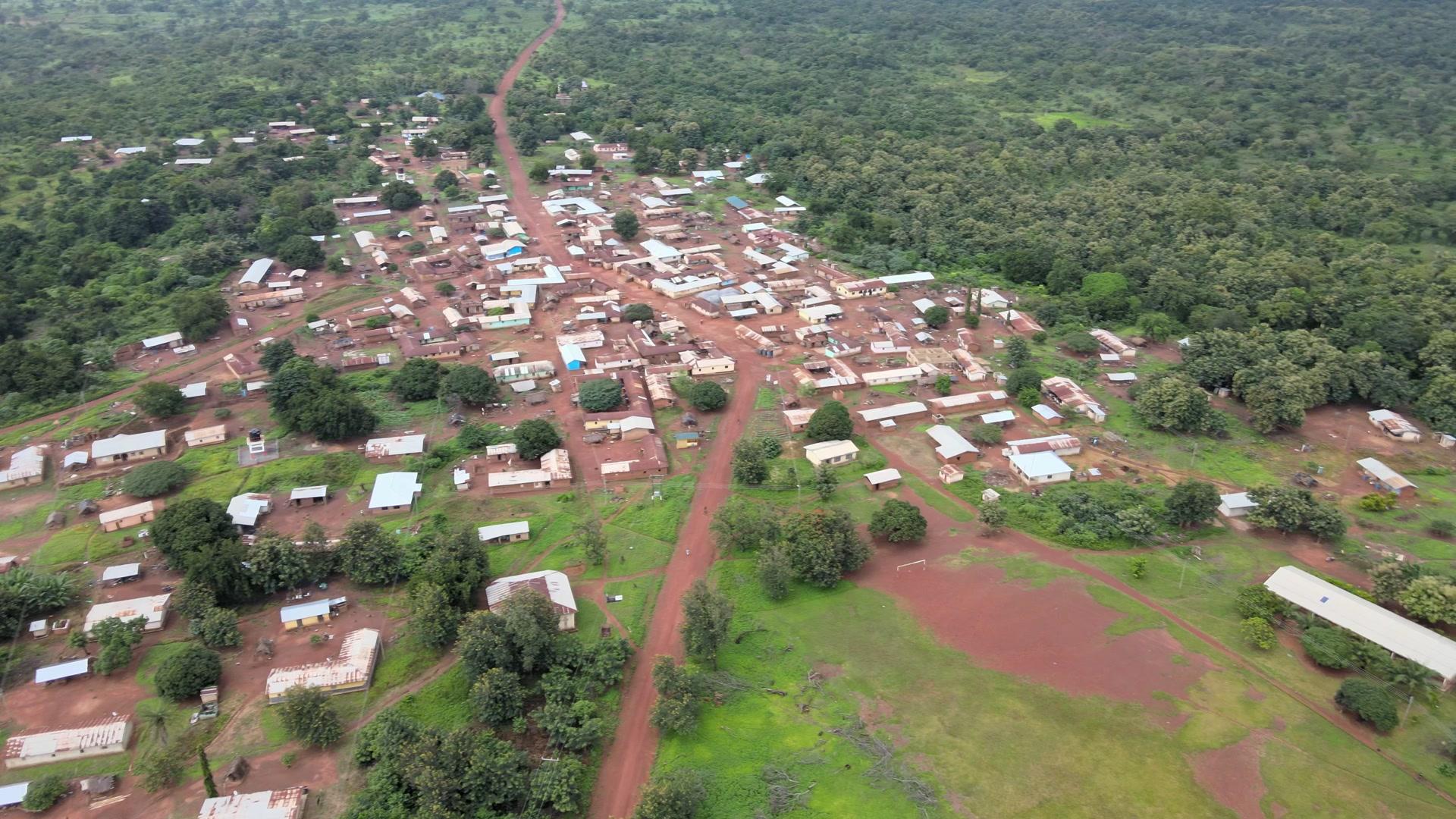 Village Remote Community Grassland Spin 360 Full